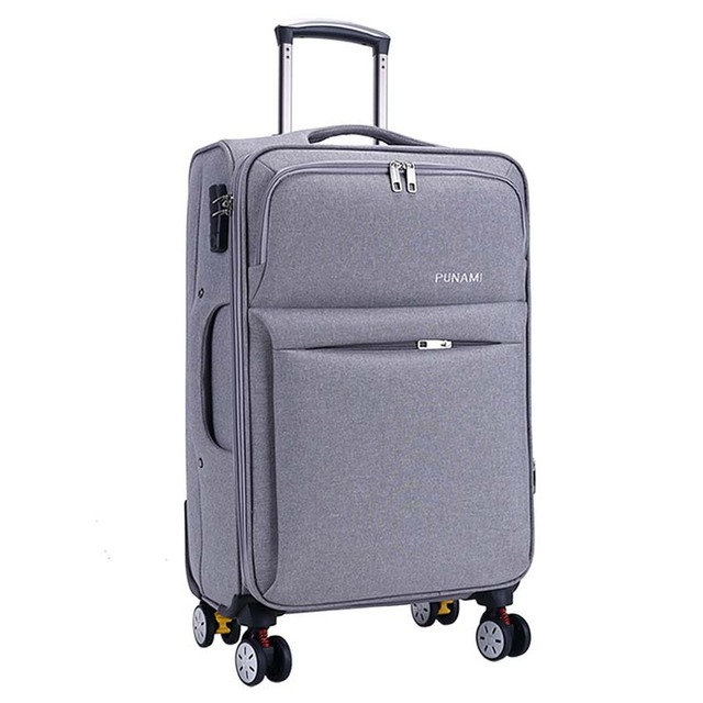 352c8c2c9a5 BeaSumore Oxford Rolling Luggage Spinner Suitcases Wheel Men Business  Trolley Spinner Password Cabin Travel Bag Soft Trunk