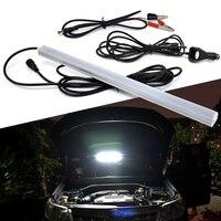 50cm LED Strip Bar Magnet Base Outdoor Camping Portable Night Light Car Repair Lamp 5m Car