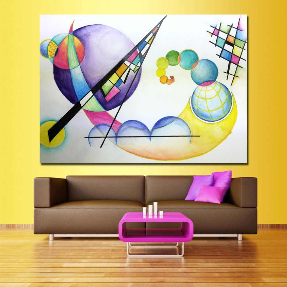 Surrealism Wassily Kandinsky Canvas Art Oil Painting Moder Home Decor Picture Wall Pictures For Living Room No Frame