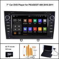 Android 7.1 Quad Core CAR DVD Player for PEUGEOT 408 PEUGEOT 308 RADIO STEREO 1024X600 HD SCREEN WIFI+DSP+RDS+16GB flash