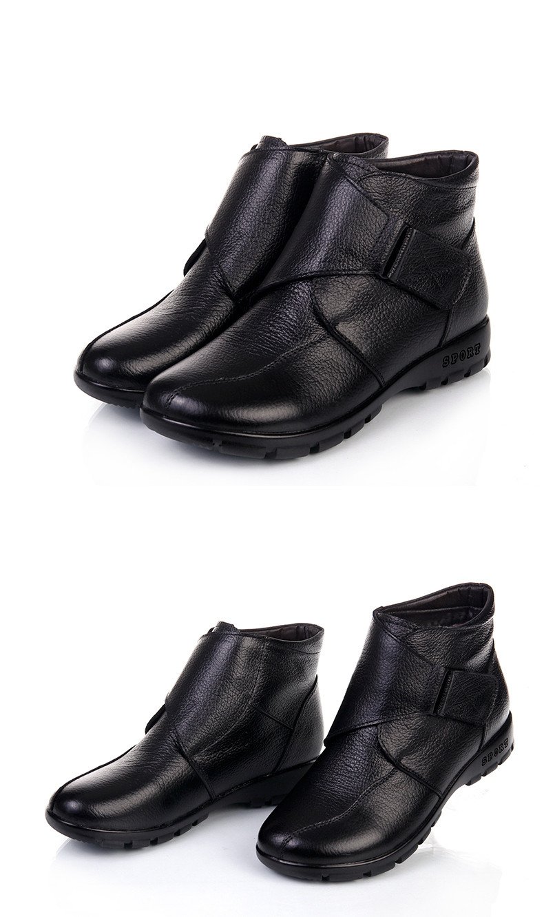 Muyang marcas chinesas sapatos de inverno mulher