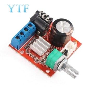 10W+10W PAM8610 D Class Dual-channel HIFI Audio Amplifier Board