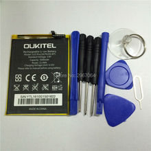 Mobile phone battery OUKITEL U15 pro battery 3000mAh Original battery Mobile Accessories OUKITEL phone battery +Disassemble tool