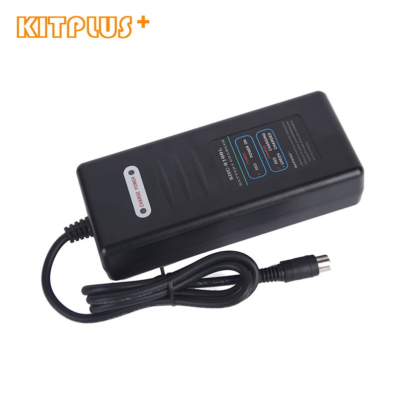 48V 2A Smart Charger With DC2.1 Connection Socket for Electric Bicycle Lithium Battery Charger