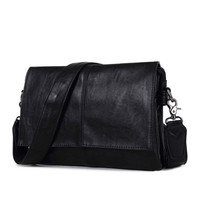 Men Bag Famous Brands High Quality Men Messenger Bags Vintage Business Laptop Bag Briefcase Leather Handbag Shoulder Bags A0229