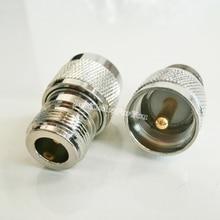 1 шт. UHF PL259 PL-259 штекер в N Тип Женский Разъем RF разъем адаптера