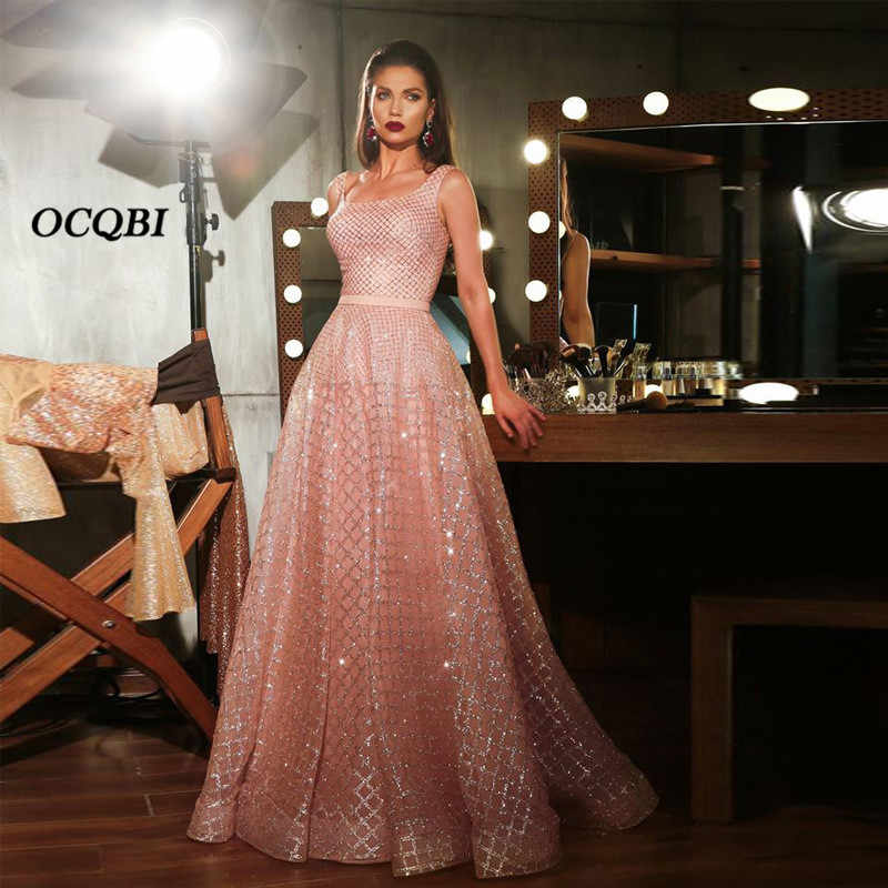 2019 Women Summer Dress Vintage Sexy Elegant Party Night Dresses Pink Long Dress Plus Size