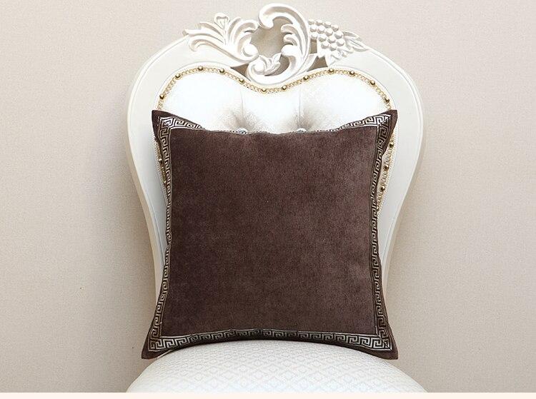 Высококлассное роскошное кружевное бархатное покрытие для подушки Чехол Рождественская Подушка Чехлы для дивана стула декоративная наволочка Подушка