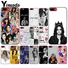 Yinuoda Demi Lovato Stay strong TPU Soft Silicone Black Phone Case for Apple iPhone 8 7 6 6S Plus X XS MAX 5 5S SE XR Mobile yinuoda demi lovato customer high quality phone case for apple iphone 8 7 6 6s plus x xs max 5 5s se xr mobile cover