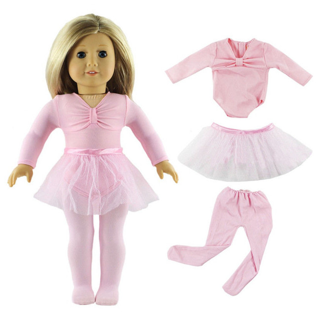 799c906b60ba New Lovely 18 Inch Ballet Suit For Girl Doll