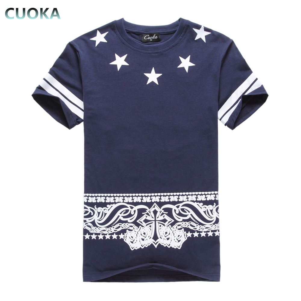 T shirt design hip hop - Cuoka Free Shipping Mens T Shirts Fashion 2017 3d T Shirt Men Hip Hop T Shirt Skate Swag Clothes Marcelo Burlon Brand Clothing In T Shirts From Men S
