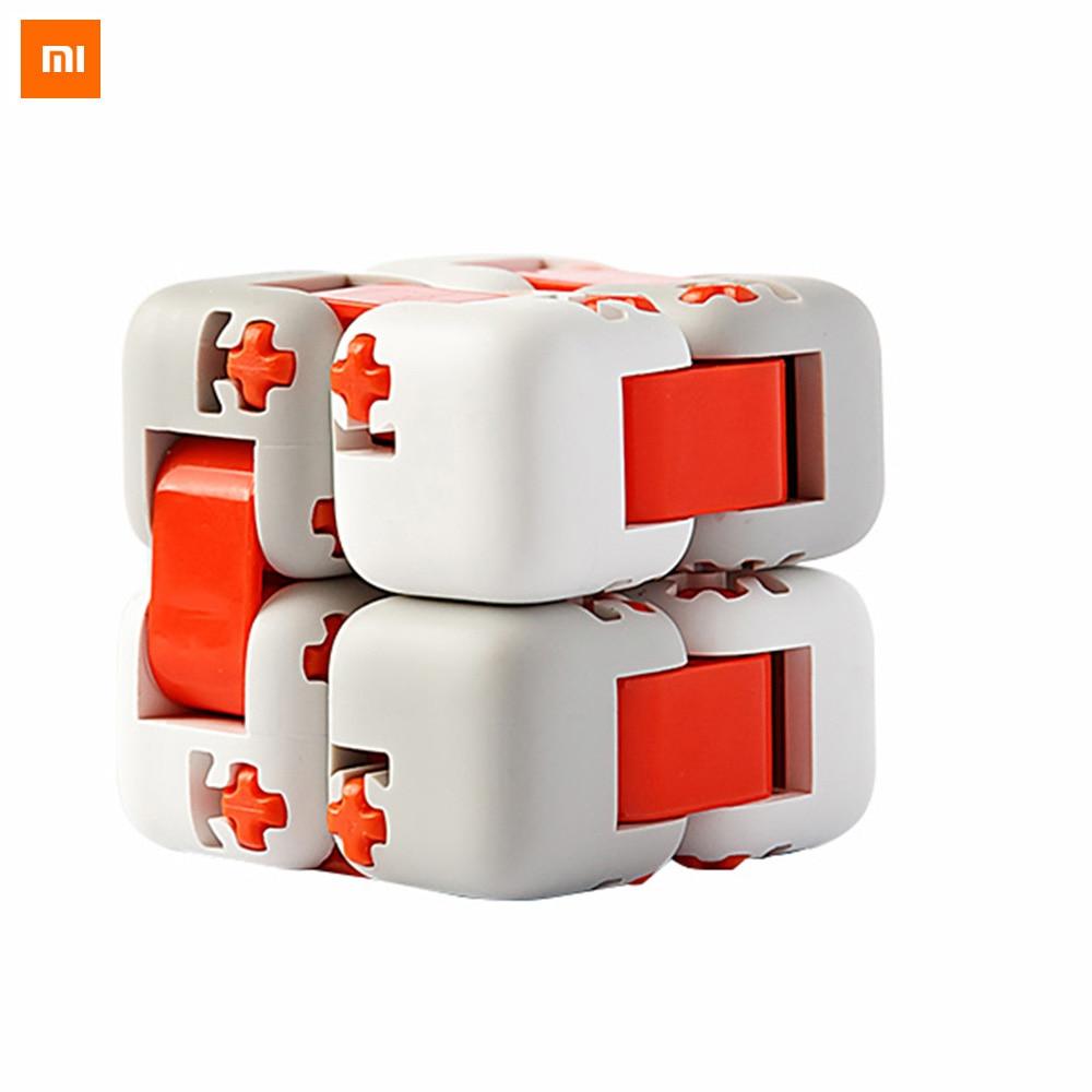 Original Xiaomi Mitu Cube Spinner Finger Bricks Intelligence Toy Smart Finger Toys Mi Portable Building Blocks For Gift and Kid