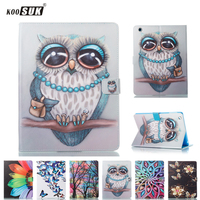 For IPad Pro 10 5 Case KOOSUK Cartoon Stand Wallet Flip Holders PU Leather Tablet Cover