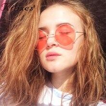 Rilixes Luxury Oversized Round Sunglasses Women Retro Brand