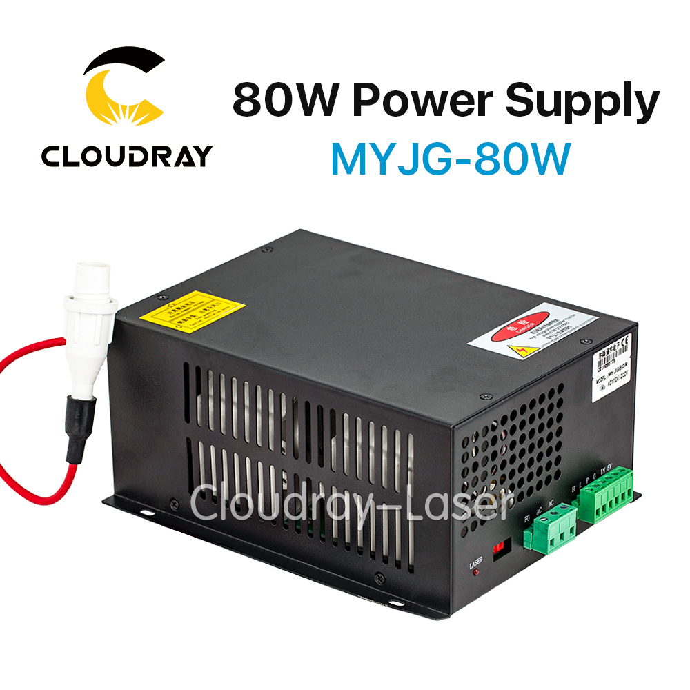 Cloudray 80W CO2 Laser Power Supply for CO2 Laser Engraving Cutting Machine MYJG-80W куртка горнолыжная roxy roxy ro165ewvoj40