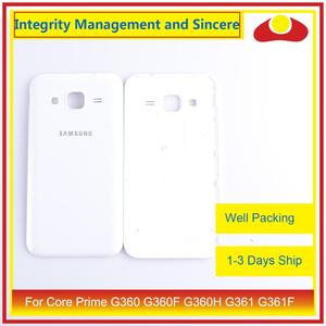 Image 2 - 50Pcs/lot For Samsung Galaxy Grand Prime G530 G530H G530F G531 G531F Housing Battery Door Rear Back Cover Case Chassis Shell