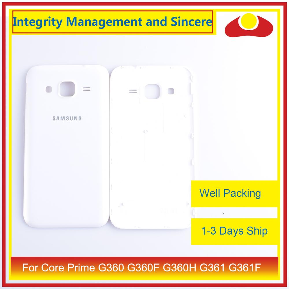 Image 2 - For Samsung Galaxy Core Prime G360 G360F G360H G361 G361F Housing Battery Door Rear Back Cover Case Chassis Shell Replacement-in Mobile Phone Housings & Frames from Cellphones & Telecommunications
