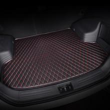 kalaisike custom car trunk mat for Maserati all models GranTurismo Ghibli Levante quattroporte auto accessories car styling