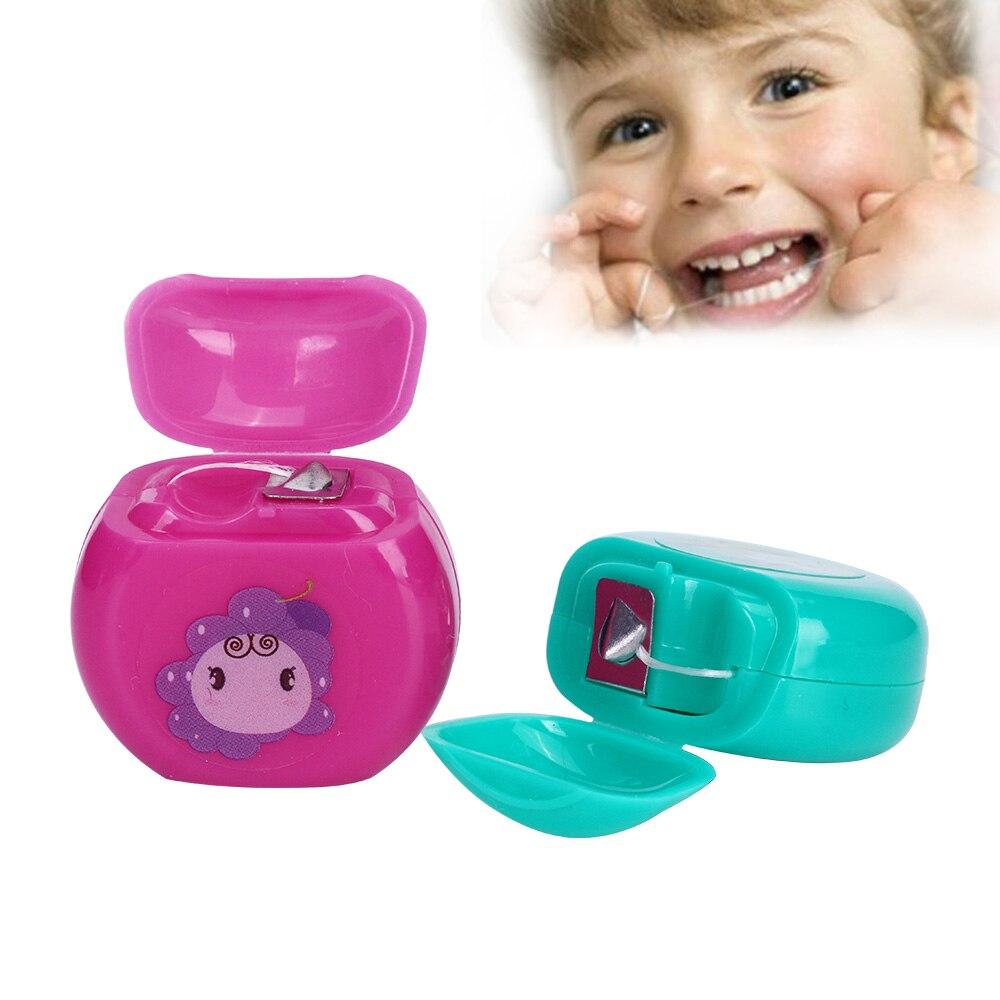 SchöN Azdent 10 Mt/spool Tragbare Gewachste Dental Flosser Integrierten Spule Draht Zahnstocher Zahnseide Ersatz Core Interdentalbürste Dental Flosser