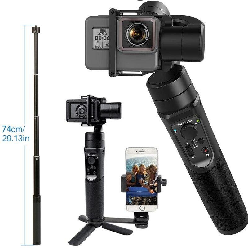 Pour GoPro Cardan Hohem iSteady Pro 3-Axe stabilisateur de poche Time-Lapse de Suivi pour Gopro Hero 7/6 /5 PK pour DJI Osmo Poche