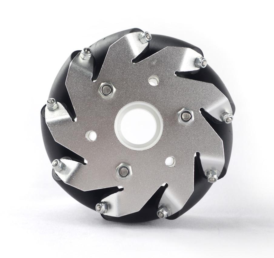 (4 inch)100mm Aluminum Mecanum Wheel Basic 14161 4 baisi 100