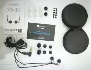 Image 5 - 100% oryginalny HiFiMAN RE 400 re400 wysokie akcesoria Hifi gorączka wydajność nowe słuchawki douszne darmowa wysyłka