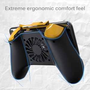 Image 1 - Powstro Phone Gamepad Holder With Cooling Fan Mobile Phone Controller Joystick Power Band Gamepad For Pubg Phone Holder