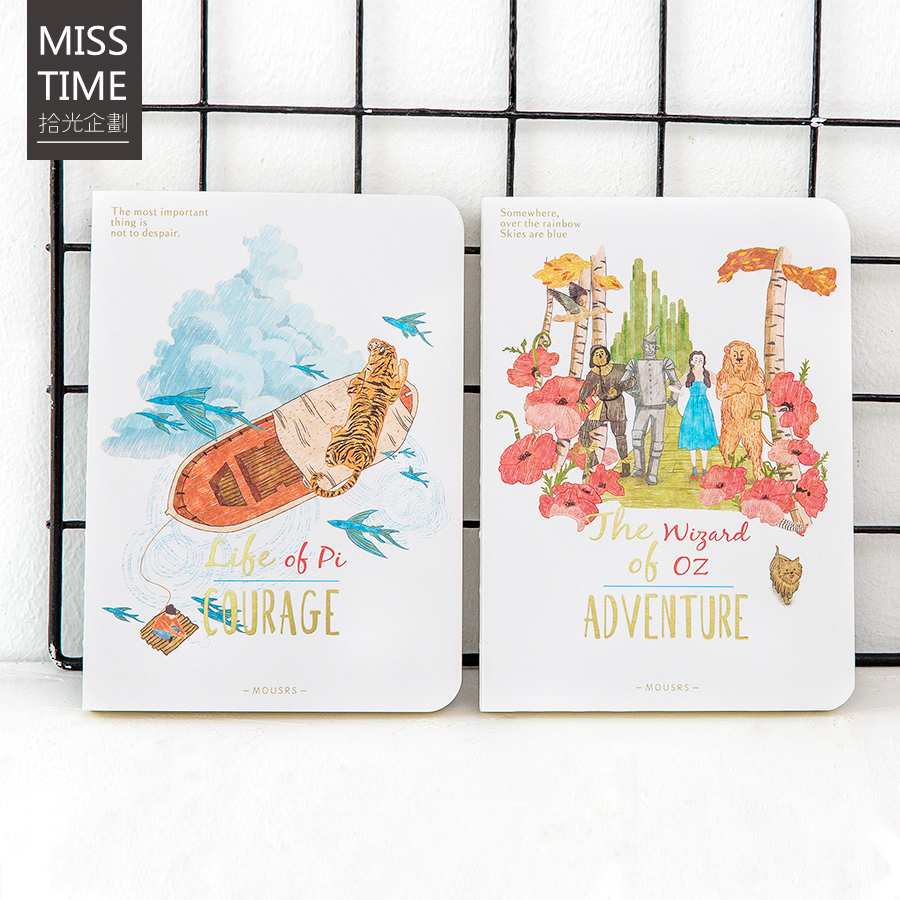 New Cute Sketch book for Drawing  80 Sheets  Diary Notebook Sketchbook Painting Graffiti Office school supplies Gift a5 blank sketchbook diary drawing graffiti painting kraft sketch book 80 sheets spiral notebook paper office school supplies