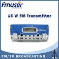 Бесплатная доставка FMUSER FU-15A 15 Вт Fm-радио Передатчик 1.5 Вт/15 Вт регулируемая