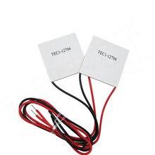 10 יח\חבילה TEC1 12706 12 v 6A TEC Thermoelectric Cooler אלקטריים, סיטונאי tec1 12706