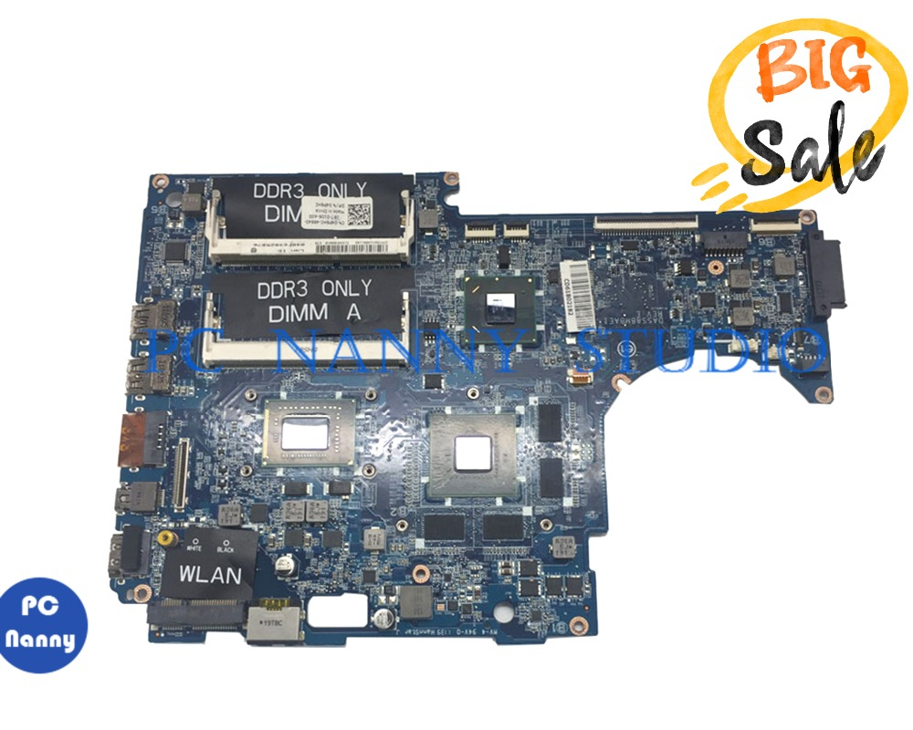 PCNANNY 5RPKT 05RPKT FOR Dell XPS 15z L511z Laptop System Motherboard I7-2620m HM67 DDR3 DASS8BMBAE1 Tested