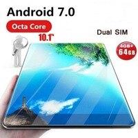 Глобальный планшет Android 7,0 OS 10-дюймовый планшет 4G FDD LTE Восьмиядерный 4 Гб ОЗУ 32 Гб ПЗУ 1280*800 ips 2.5D стекло Детские планшеты 10 10,1