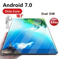 Globale Tablet Android 7.0 OS 10 zoll tablet 4G FDD LTE Octa-core 4 GB RAM 32 GB ROM 1280*800 IPS 2.5D Glas Kinder Tabletten 10 10,1