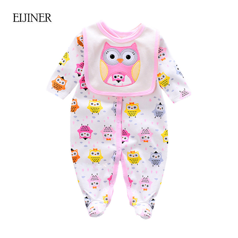 Baby Girl Rompers Autumn Boys Clothing Sets Roupas Bebes Animal Newborn Baby Clothes Cute Baby Jumpsuits Infant Girls Clothing cotton baby rompers set newborn clothes baby clothing boys girls cartoon jumpsuits long sleeve overalls coveralls autumn winter