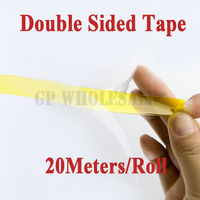 25mm 20 Meters 0 1mm Thick High Temperature Resist Double Sided Glued Tape Polyimide Film For