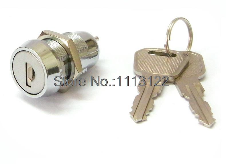 High Security Water Proof Flat key Switch Lock for switch 19MM OFF/ON Switch Power Lock Cylinder with dust shutter 1PC 1key pull цены онлайн