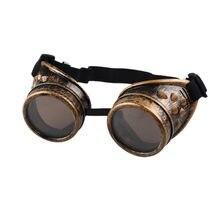 Solda Cyber Óculos De Sol Retro Gótico Do Punk Do Vintage Óculos Steampunk  Óculos de Sol Dos Homens Óculos Óculos de Plástico Ad.. 72743e4392