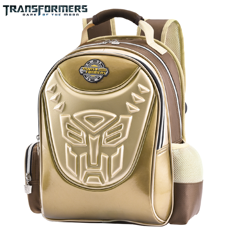 TRANSFORMERS School Bags Boys Backpack Children Schoolbags For Kids Cartoon Style Comfortable Back Panel And Shoulder Straps