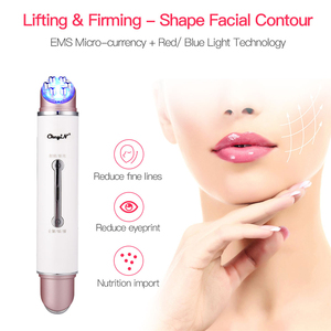 Image 2 - EMS LED פוטון אור טיפול יופי מכשיר אנטי הזדקנות קמטים מסיר פנים הרמת הידוק עין פנים לעיסוי עור טיפול כלי