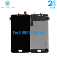 For Original Doogee Shoot 1 LCD Display Screen Touch Glass Digitizer Assembly Replacement 5 5 1920X1080P