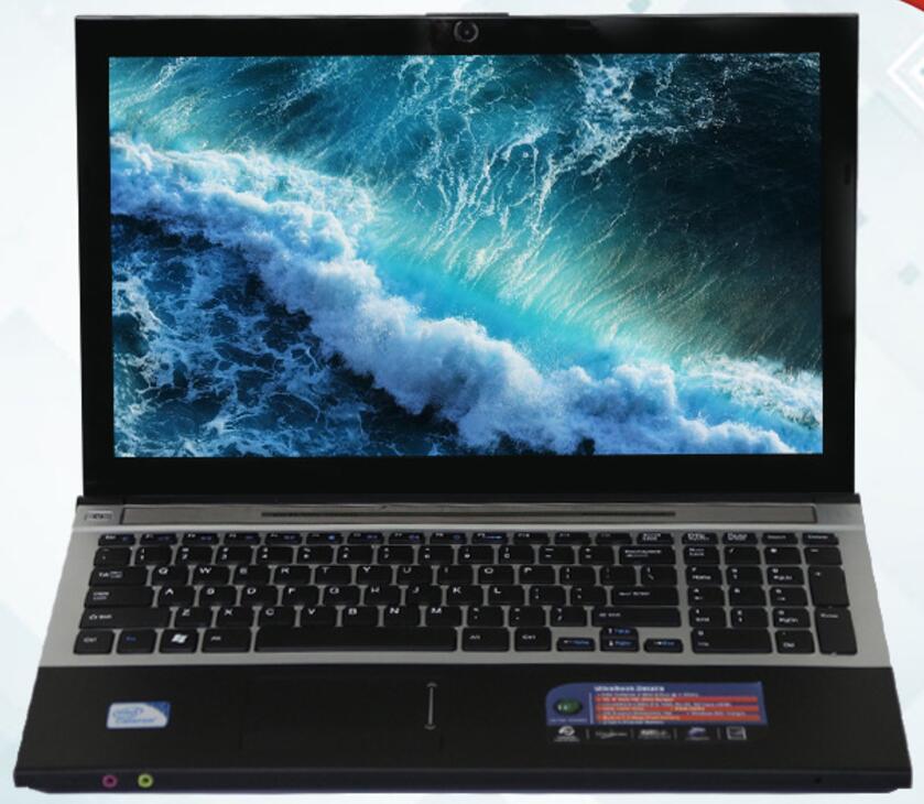 8g RAM 120g SSD 500 gb HDD 15.6 pouces 1920*1080 p Intel Core i7 HD Graphique 4000 Ordinateur Portable De Jeu Windows 10 Portable avec DVD-RW WIFI