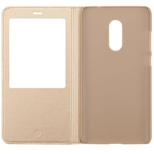Image 4 - FDCWTS for Xiaomi redmi pro case Open Window Flip Cover PU Leather Case capa for Redmi pro smart cover sleeping case