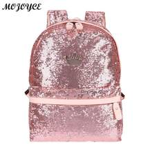 32e7f62c8e62 Сияющие Блестки Для женщин рюкзак для девочек-подростков Повседневное Малый  мода большой Ёмкость путешествия школьная