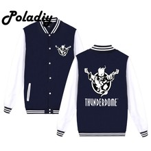 Thunderdome Hardcore Baseball Uniform Men's Jackets Camiseta Youth Jackets Barcelonae Kids Tracksuit(China)