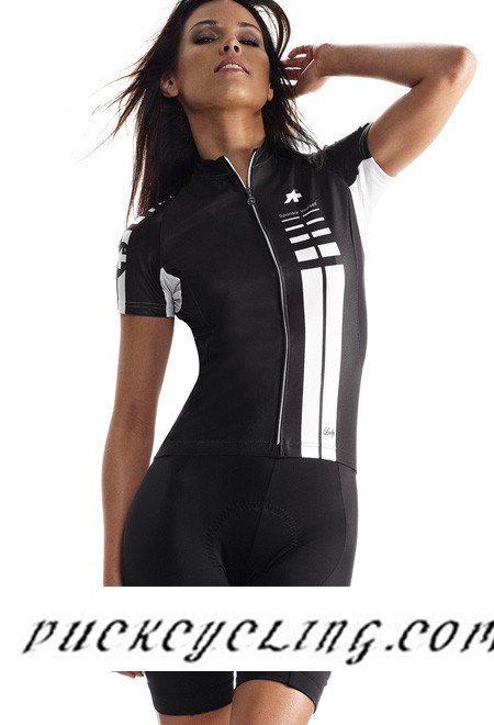 Assos Ss Lady Short Sleeve Bib Shorts Kit Cycling Jersey Women S