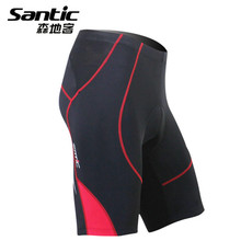 SANTIC New Men professional breathable anti-pilling MTB Cycling Riding Motorcycle 3D Gel Padded sports Tights shorts underwear