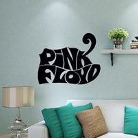 2017 Hot Pink Rock Pink Floyd Adesivo Decalque Vinil Adesivos de Parede Adesivos de Parede Home Decor Art