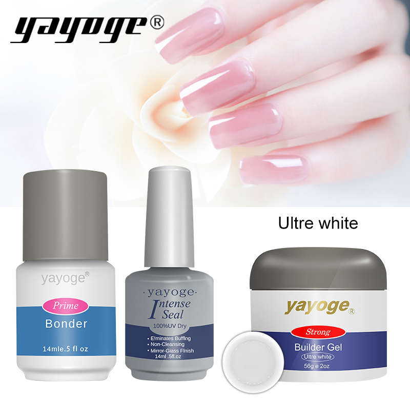 Nail Extensions Gel: Aliexpress.com : Buy YAYOGE Nail Builder Gel SET KIT For