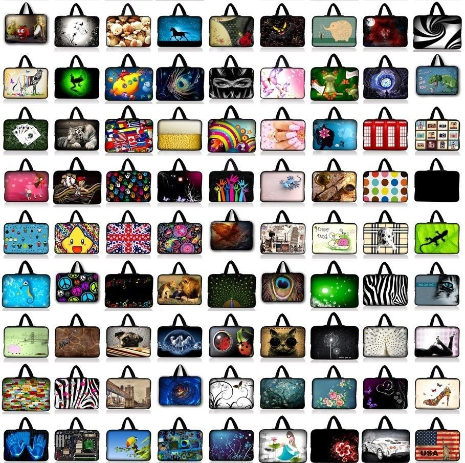 10.1 11.6 13 14.1 15 17.3 17.4 Portable Laptop Bag Notebook Cases Sleeve 13.3 15.4 15.6 For Asus Lenovo Acer HP Dell Computer