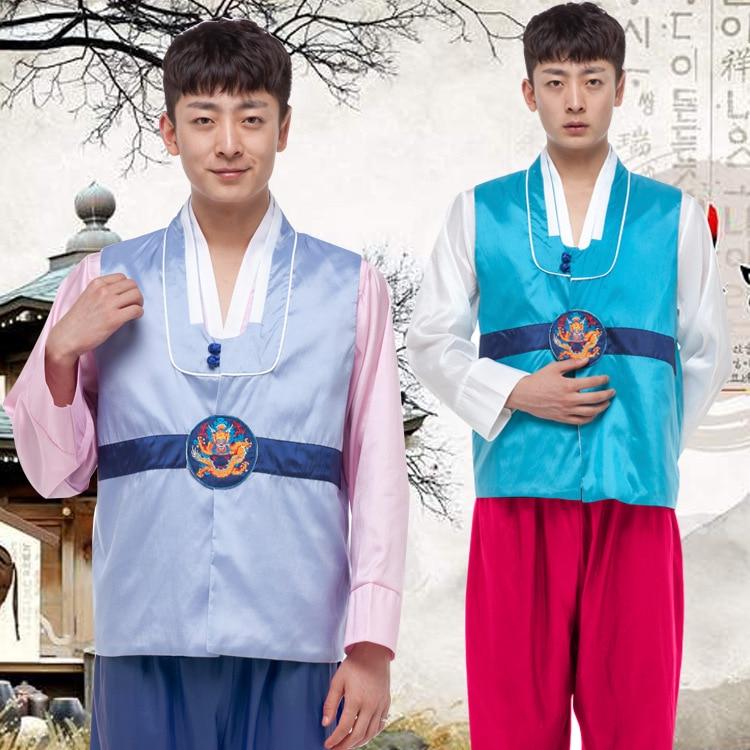 Muškarci Korejski Hanbok Muška Koreja Tradicija Kostim 4 Boja Hanfu - Nacionalna odjeća - Foto 2